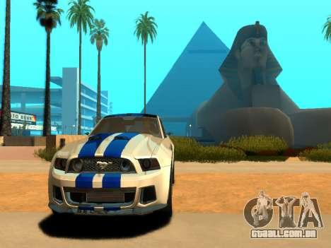 ENBSeries Realistic Beta v2.0 para GTA San Andreas segunda tela