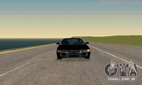 VAZ 21123 TURBO-Cobra v2 para GTA San Andreas traseira esquerda vista