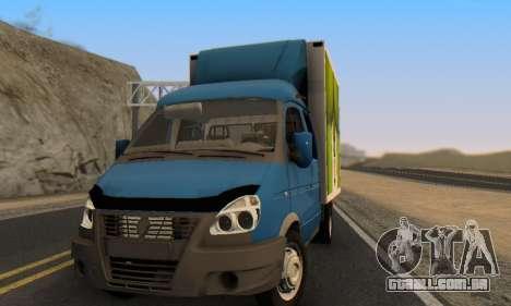 33023 Gazela para GTA San Andreas vista traseira