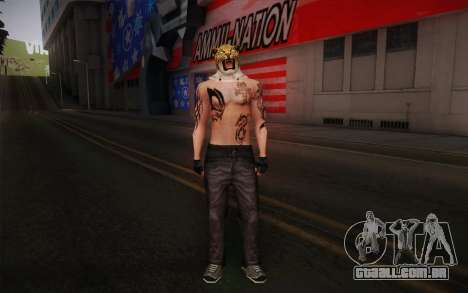 King from Tekken para GTA San Andreas