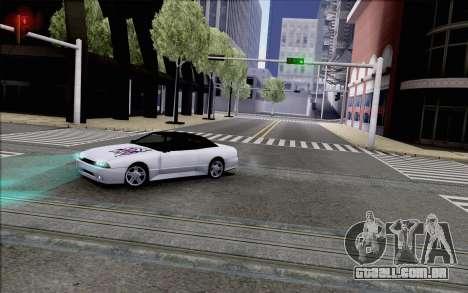 Elegy Kiss the Wall para GTA San Andreas traseira esquerda vista