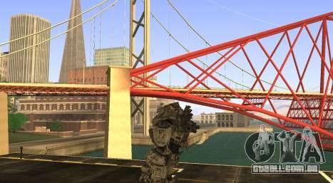 TitanFall Atlas para GTA San Andreas terceira tela
