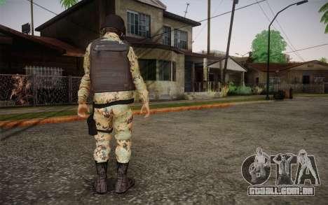 Desmadroso v6 para GTA San Andreas segunda tela