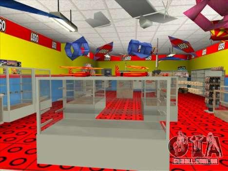 O LEGO shop para GTA San Andreas