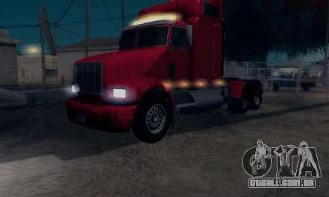 GTA V Packer para GTA San Andreas traseira esquerda vista
