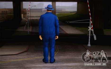 New Sheriff para GTA San Andreas segunda tela