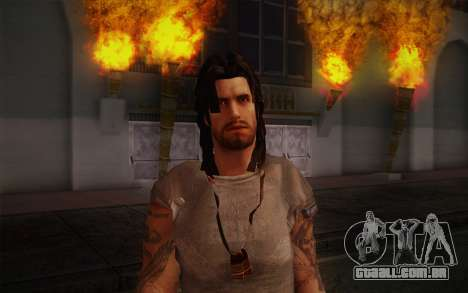 Jake Conway из Ride to Hell: Retribution para GTA San Andreas terceira tela