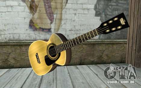 Acoustic Guitar para GTA San Andreas
