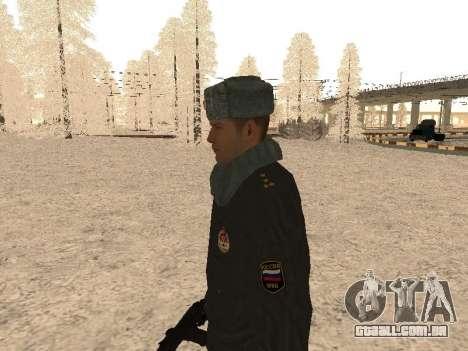 Um capitão da polícia para GTA San Andreas segunda tela