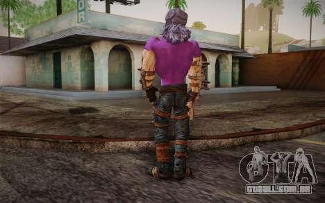 Vovó Flexington из Borderlands 2 para GTA San Andreas segunda tela