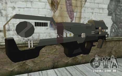 Halo Spartan Laser para GTA San Andreas segunda tela