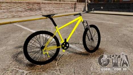 GTA V Mountain Bike para GTA 4 esquerda vista