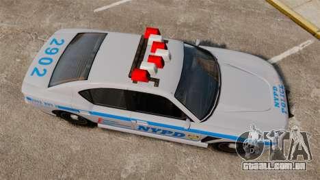 GTA V Bravado Buffalo NYPD para GTA 4 vista direita