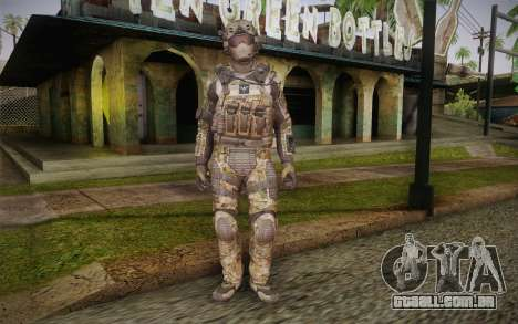 Crosby from Call of Duty: Black Ops II para GTA San Andreas