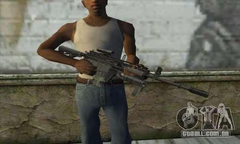 M4A1 из COD Modern Warfare 3 para GTA San Andreas terceira tela