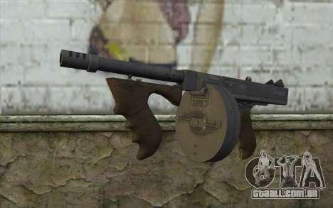 Máquina De Thompson (Deadfall Adventures) para GTA San Andreas