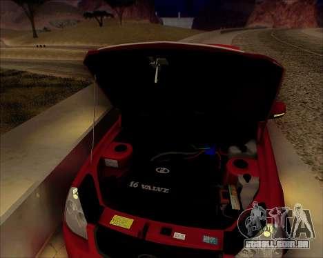 Lada 2170 Priora Tuneable para GTA San Andreas