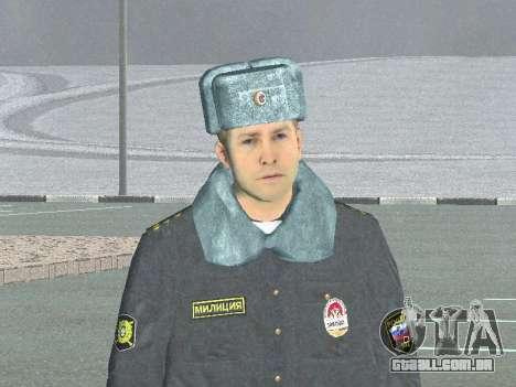 Um capitão da polícia para GTA San Andreas