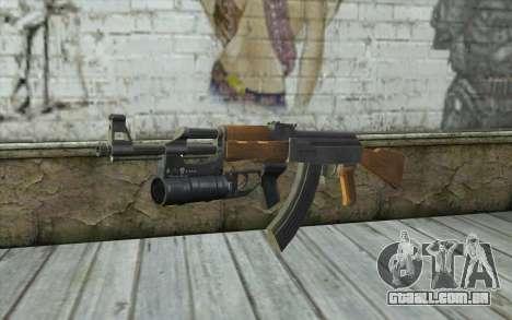 AK47 with GP-25 para GTA San Andreas