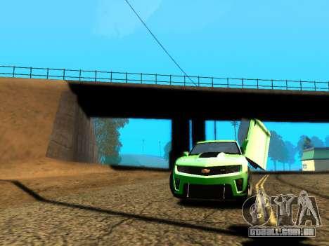 ENBSeries Realistic Beta v2.0 para GTA San Andreas por diante tela
