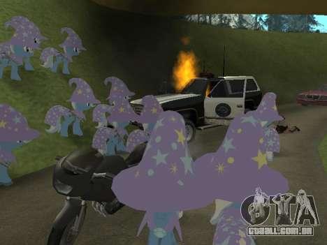 Trixie para GTA San Andreas sexta tela