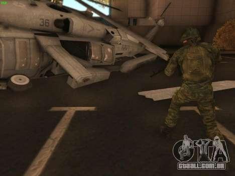 Bombardeiro do moderno Exército russo para GTA San Andreas segunda tela