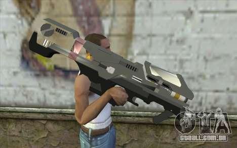 Halo Spartan Laser para GTA San Andreas terceira tela