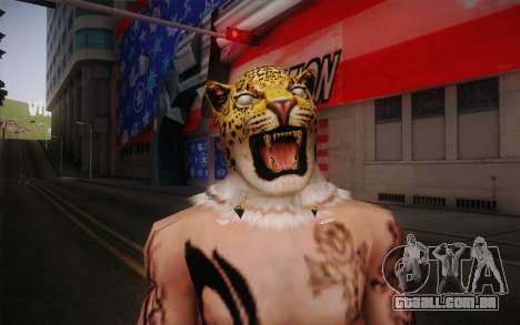 King from Tekken para GTA San Andreas terceira tela