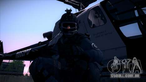 Special Weapons and Tactics Officer Version 4.0 para GTA San Andreas twelth tela
