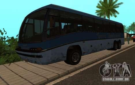 GTA 5 Dashound para GTA San Andreas traseira esquerda vista