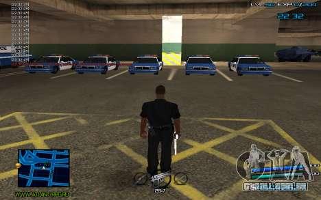 C-HUD by Miki para GTA San Andreas segunda tela