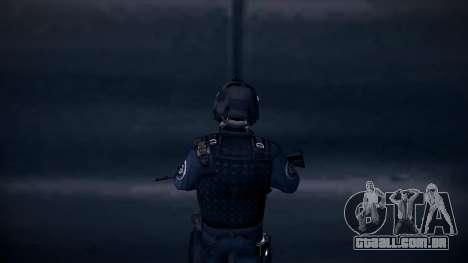 Special Weapons and Tactics Officer Version 4.0 para GTA San Andreas sexta tela