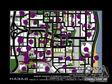 Tags Map Mod v1.2 para GTA San Andreas