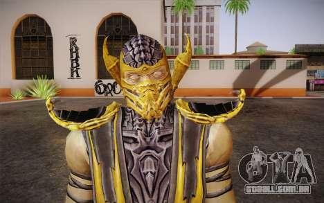 Escorpião из Mortal Kombat 9 para GTA San Andreas terceira tela