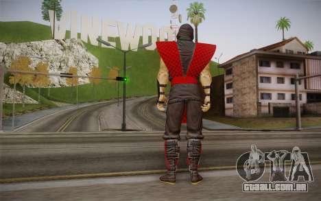 Clássico Ermac из MK9 DLC para GTA San Andreas segunda tela