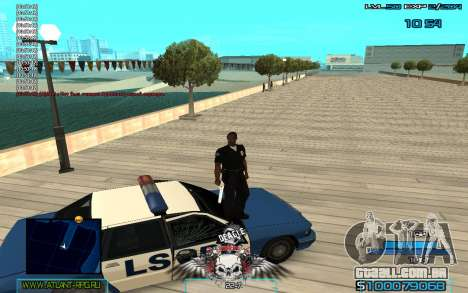 C-HUD by Extazy v1.1 para GTA San Andreas terceira tela