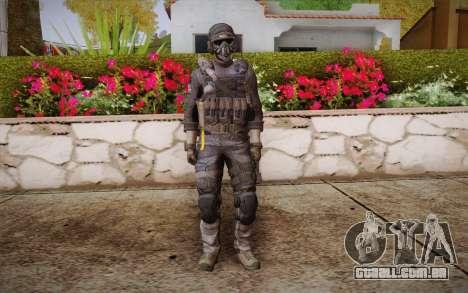 Chute из Call of Duty: Ghosts para GTA San Andreas