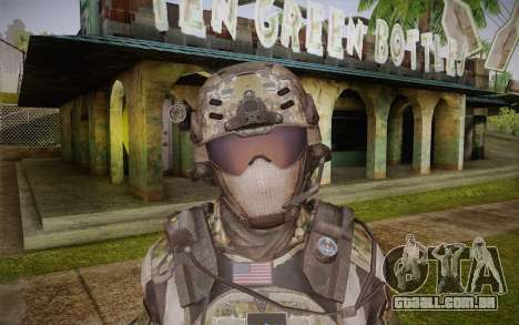 Crosby from Call of Duty: Black Ops II para GTA San Andreas terceira tela