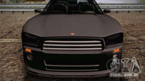 Bravado Buffalo I para GTA San Andreas traseira esquerda vista