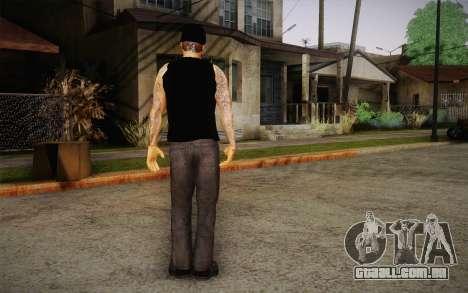 M. Shadows Skin para GTA San Andreas terceira tela