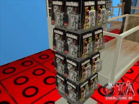 O LEGO shop para GTA San Andreas sétima tela