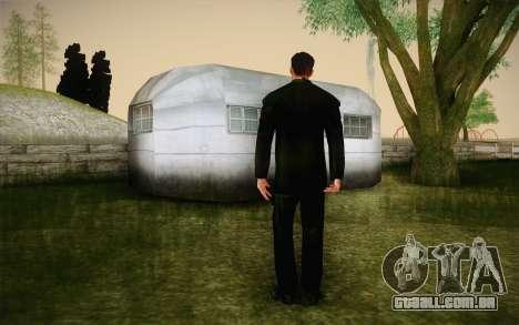 Agent Smith from Matrix para GTA San Andreas segunda tela