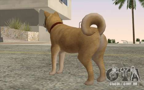 Cão para GTA San Andreas segunda tela