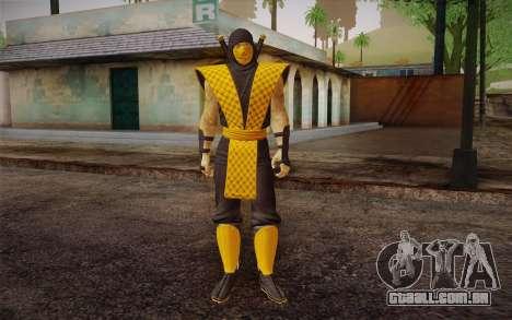 Classic Scorpion из MK9 DLC para GTA San Andreas