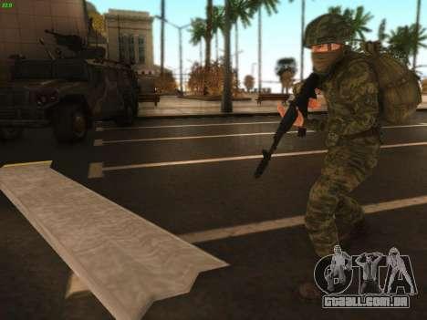 Bombardeiro do moderno Exército russo para GTA San Andreas