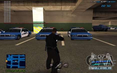 C-HUD by Miki para GTA San Andreas terceira tela
