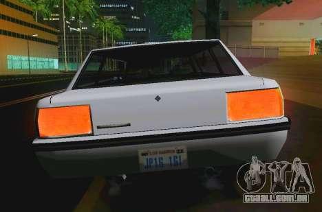 Vincent Limousine para GTA San Andreas vista direita