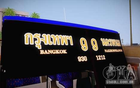 Mercedes-Benz Argentina Thailand Bus para vista lateral GTA San Andreas
