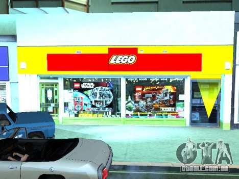 O LEGO shop para GTA San Andreas nono tela