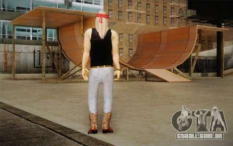 Axl Rose Skin v2 para GTA San Andreas segunda tela